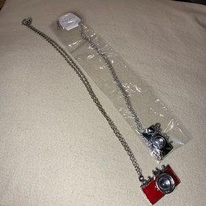 2 camera necklaces